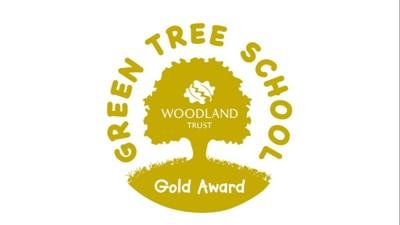 Green Tree Schools Award GOLD!