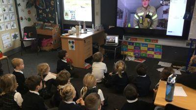 Virtual Fireman Visit
