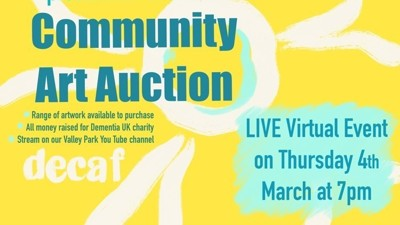 Community Art Auction for charity