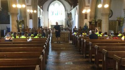 Pilgrimage to West Malling church