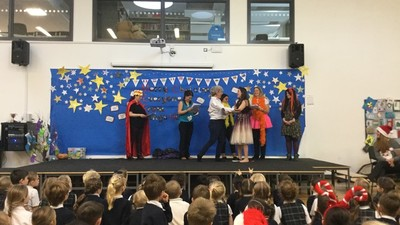 Staff panto for children!