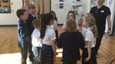 Years 3 & 4 record song for fashion show