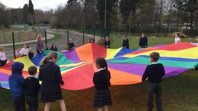 New playground play zones
