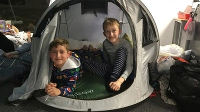 Refugee Camp Out