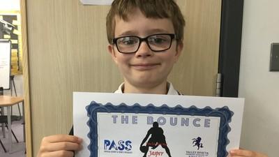 Speed Bounce success for Jasper!