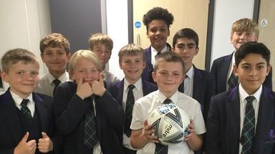 Football triumph!